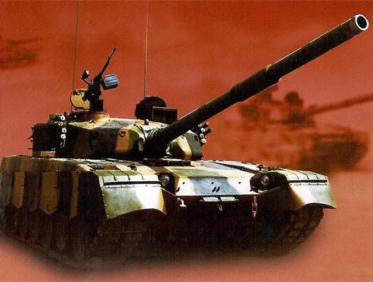 фото китайского танка MБТ-2000