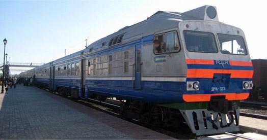поезд ждет поссажиров