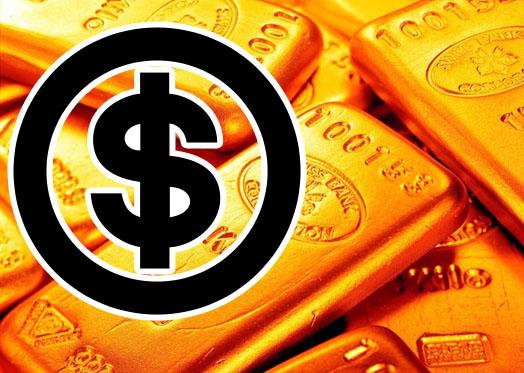 цена на золото в долларах