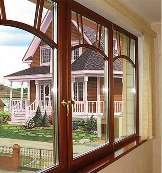 деревянные окна в замке
