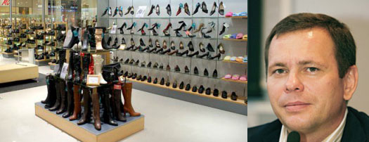 Игорь Яковлев и продажа обуви
