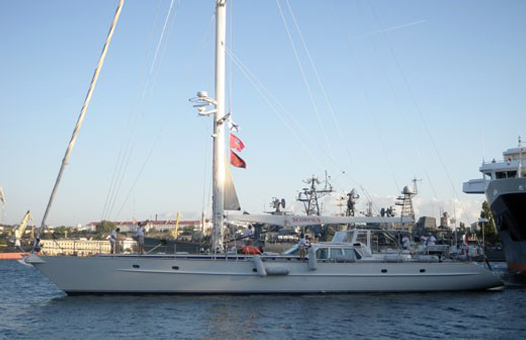 яхта Скорпиус от Украины